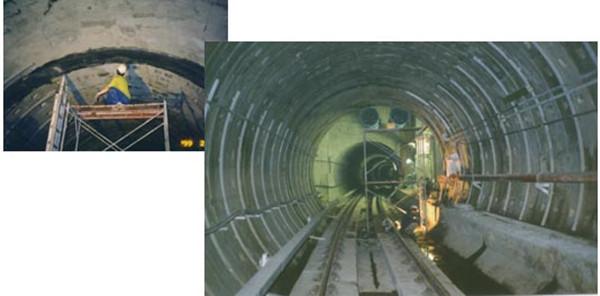 Taipei MRT Leakage Sealing Work