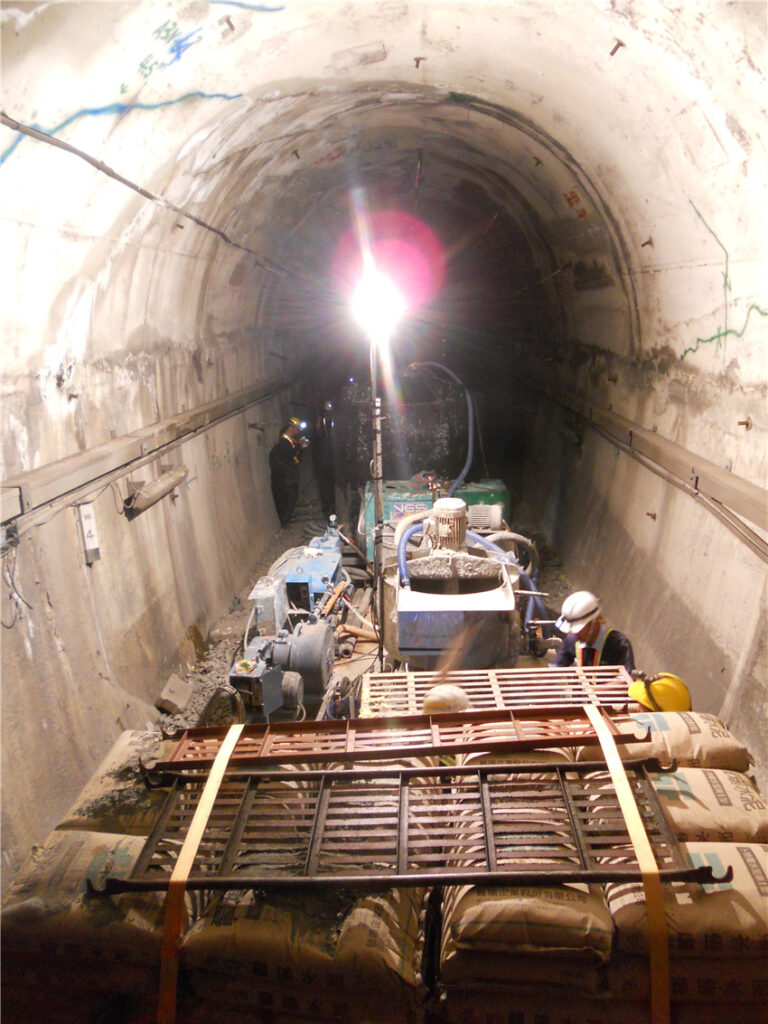 South Line Fangshan #1 & others, 8 Tunnel Reinforcement Works