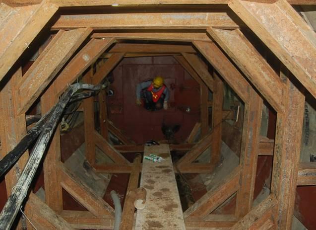 順利達成施工中地下管道湧水湧砂搶險工作