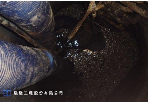 周邊地層為粉土質黏土層,地下水位於地表下1.0m左右