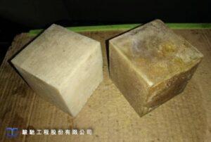 固化後材料抗壓抗、抗彎強度高等特性