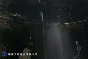 The water output was more than 3.0m3per minute