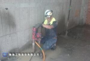 準確性。確保灌注頂昇反力傳遞至基礎與梁柱結構,避免破壞鄰近擋土牆及基礎版