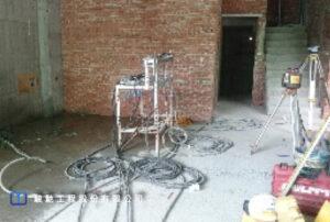 注漿過程需搭配基礎頂昇量及垂直度監測