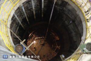 大陸華南地區某煉鋼廠一處新建大型漩流池