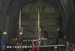 After coordination by all units, it was decided to abandon a part of the caved-in tunnel, excavate two alternative tunnels
