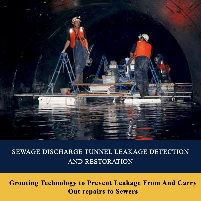 Sewage Discharge Tunnel Leakage Detection And Restoration