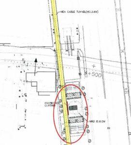 潛盾隧道豎坑與既有大型MEA電纜隧道間隔僅約0.68m