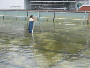 池體水平測量