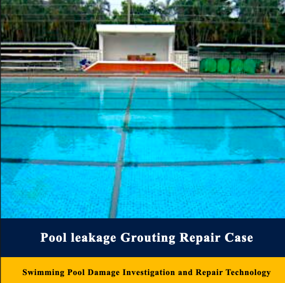Swimming Pool Damage Investigation and Repair Technology