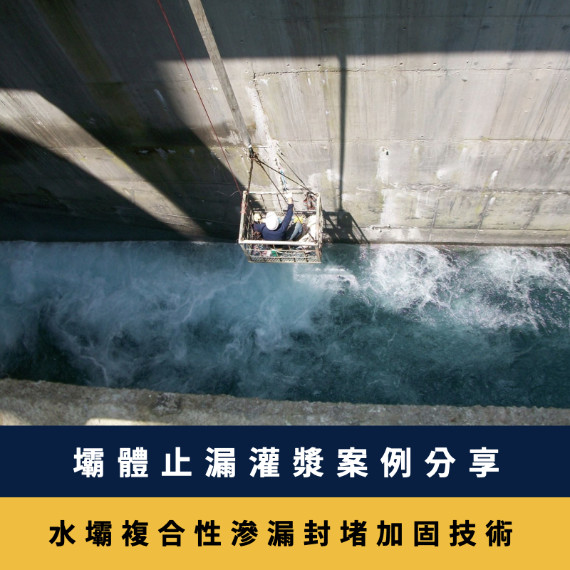 水壩複合性滲漏封堵加固技術